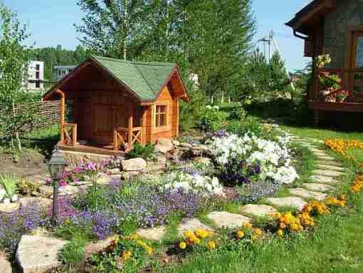 Ландшафтный дизайн на дачном участке своими руками