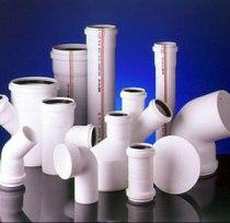 Пластиковые трубы для дома.