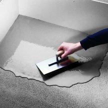 Укладка бетонных полов.