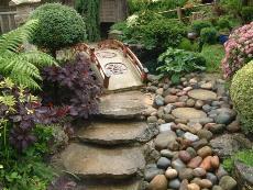 Сад в японском стиле.