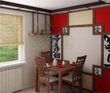 Кухня в японском стиле.