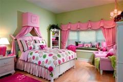 Интерьер комнаты для девочки.