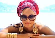 Как красиво повязать платок на голове.