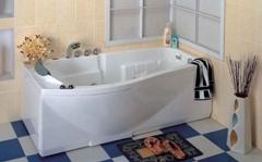 Как установить ванную.